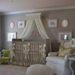 classic nursery room style with elegant soft brown crib gorgeous white large sofa interesting round chair wonderful large carpet