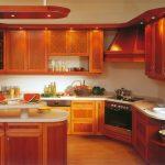 elegant Granite with Countertop Backsplash Also Beige Painting Wall Plus Picket Floor Atypical Kitchen Lighting Ideas In Picket Cabinet
