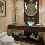 elegant Wash Basin For Small Space Modern Design Bathroom Inventive Stones Design bathroom Design Ideas