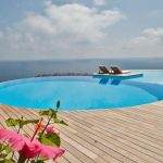 fantastic Wood Ground Flower Garden plus Terrace In The Close by Superb Swimming Pool concept