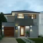 great Wall Lighting plus Inexperienced Grass In Backyard wonderful Facades Homes Design Elegant Glasses Door Thought