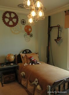 Exceptional Or Maybe Creepy Steampunk Bedroom Ideas For