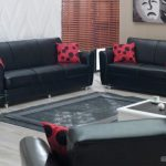 Lovely Cushions Set White Coffee Table On Wooden Laminate Floor As Effectively Pink Black Pillow Also Brown Shutter Window Nook Elegant Black Ikea Couch Bed Ideas With Gray Rug