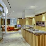 lovely Kitchen Storage Design Ideas With Brilliant Lighting Kitchen Brown Wooden additionally The Wooden Storage
