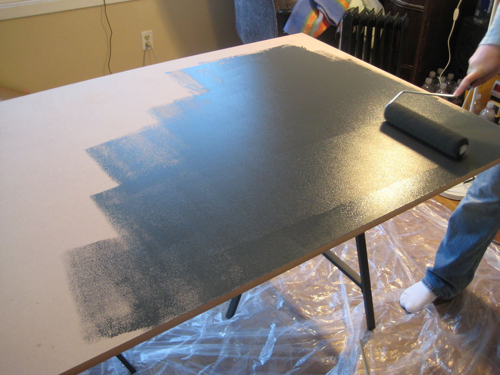Diy Challenge Making Your Own Chalkboard Table Homesfeed