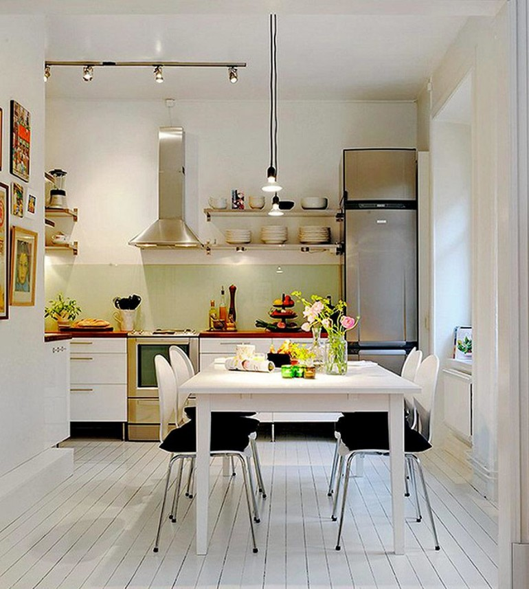Some Smart Ways To Create A Small Kitchen Design - HomesFeed