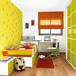 wonderful teenage girl bedroom with amazing numbered pattern wall also cute green accent with magnificent bunk bed and also small storage in hardwooden flooring design