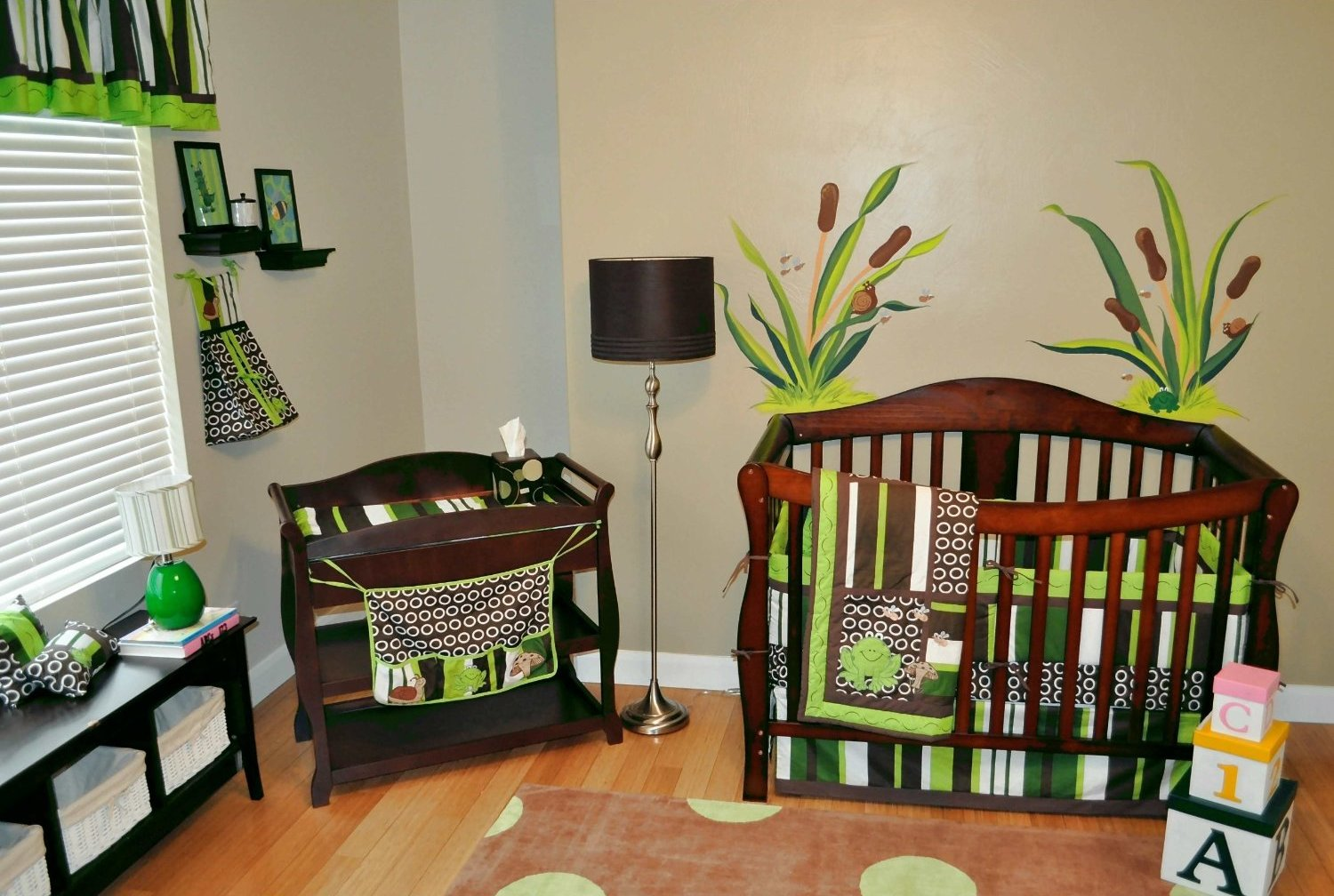 Refreshing Go Green Design For Nursery Homesfeed