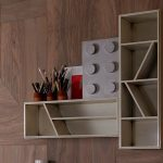 Wood Wall Unique Lego Kids Furniture By Lola Glamour White Open Wall Mounted Shel Grey Huge Lego Decoration Brown Pencils Containers