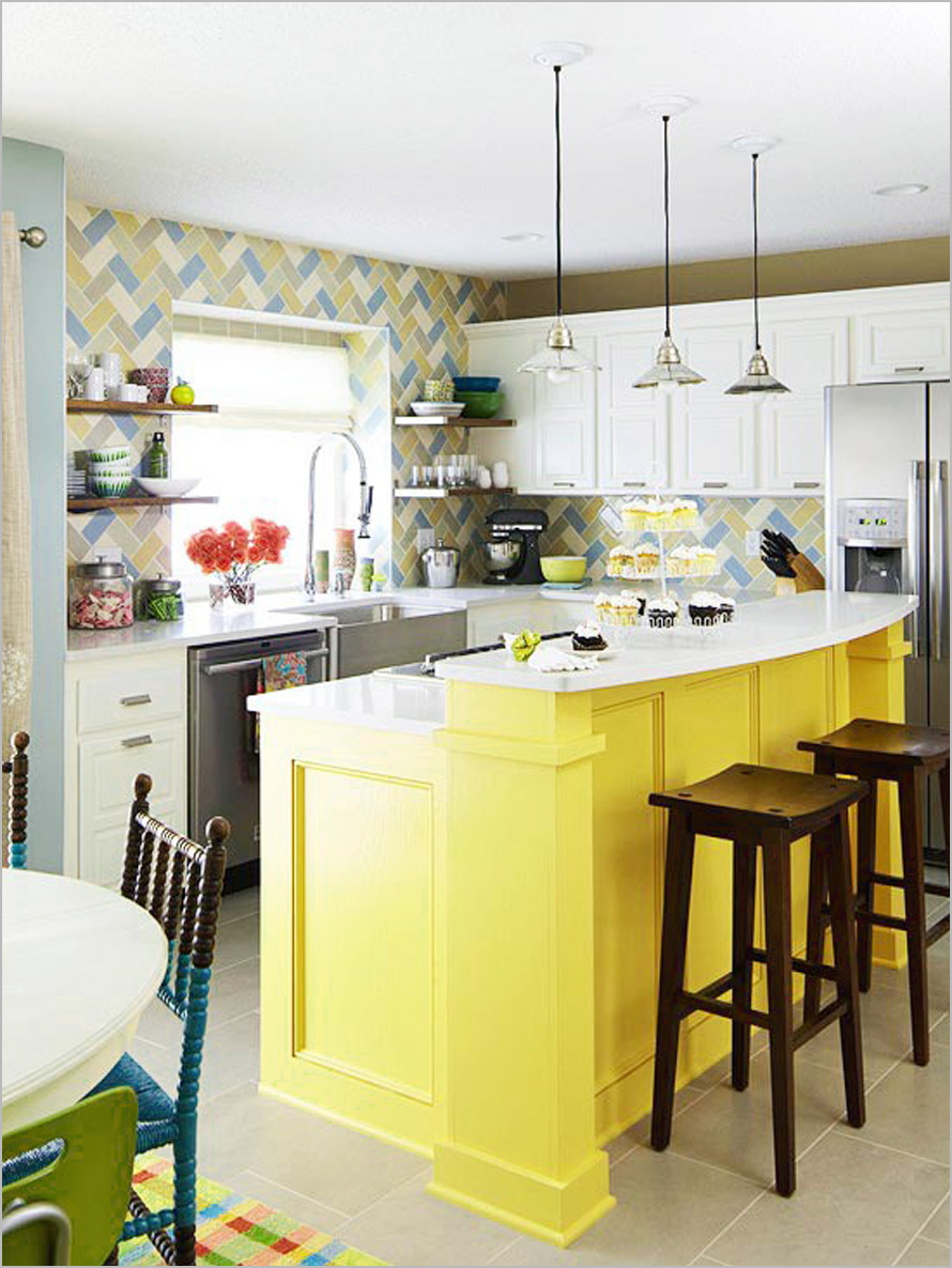 how to sprinkle your kitchen with colors? – homesfeed