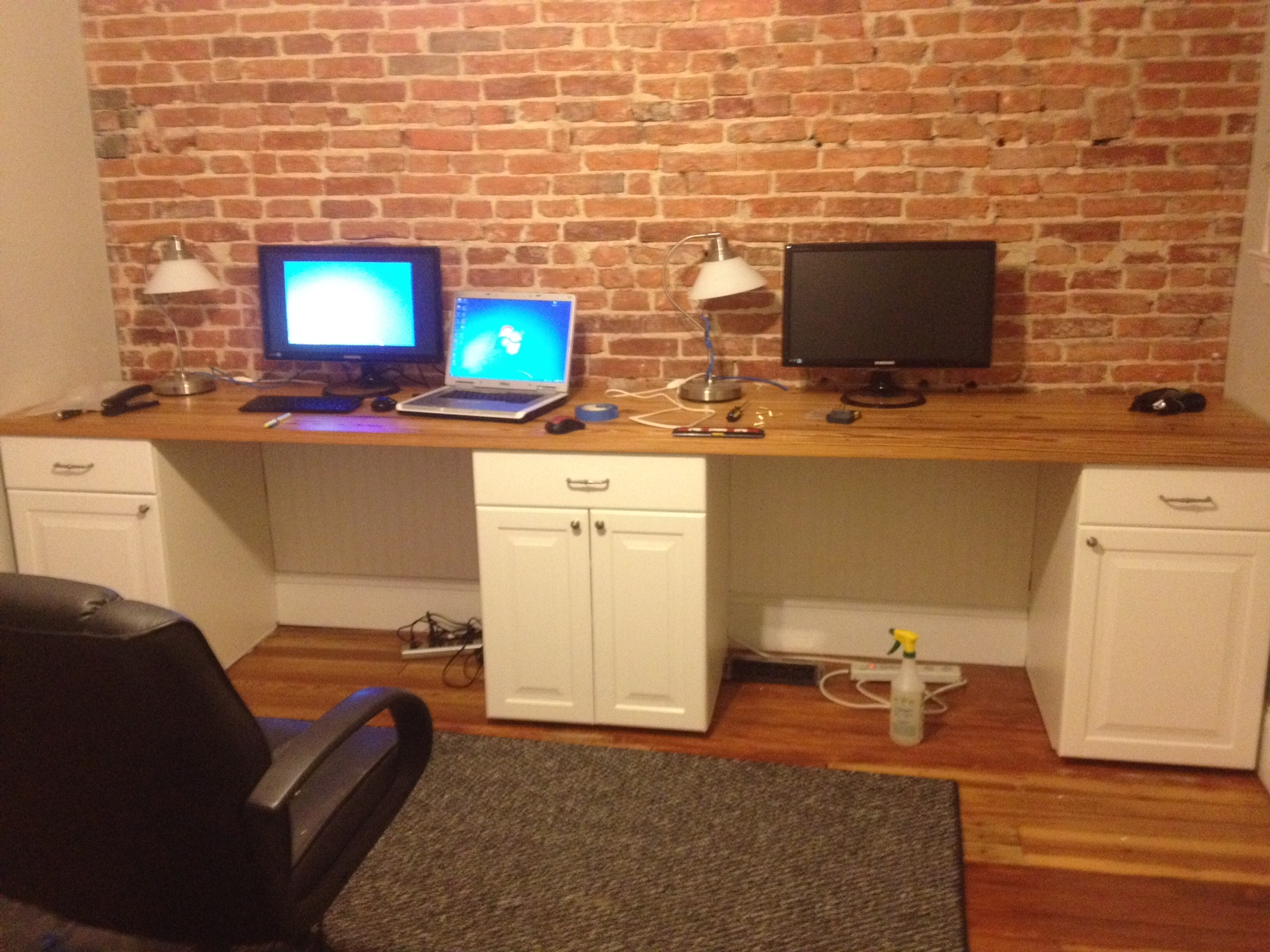 2 person desk ikea, good idea of sharing desk office | homesfeed