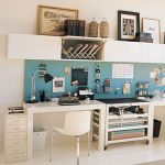 2 person desk office with shelves 2 person desk office with storing units blue and white 2 person desk office chic 2 person desk office 2 person deks office with cabinets simple 2 person deks office with cabinets white twin desks hom