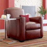 Reading Chair Comfortable Reading Chair Cozy Reading Chair Single Chair Leather Reading Chair Red Leather Reading Chair Elegant Red Leather Reading Chair Luxurious Reading Chair Reading Chair With Leather Material Comfy Leather Readi
