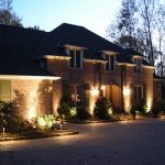 bricked exterior wall white painted window frame perfect exterior lighting ideas lighting design for front entry beautiful front entry