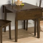 dark-wood-finish double drop leaf table simple dark-wood-finisg dining chairs