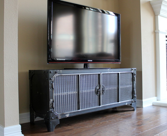 unique tv console create such fun experience of watching homesfeed. Black Bedroom Furniture Sets. Home Design Ideas