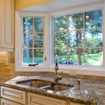 garden window for kitchen dishwashing unit luxurious marble kitchen countertop big-size kitchen cabinetry