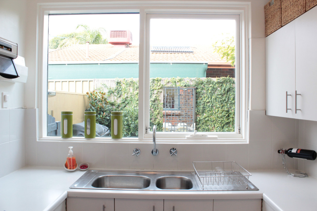 Kitchen Window Treatments Over Sink Privacy