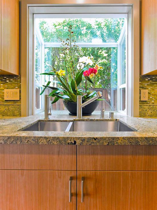Garden Windows For Kitchen Refreshing Part In The Kitchen
