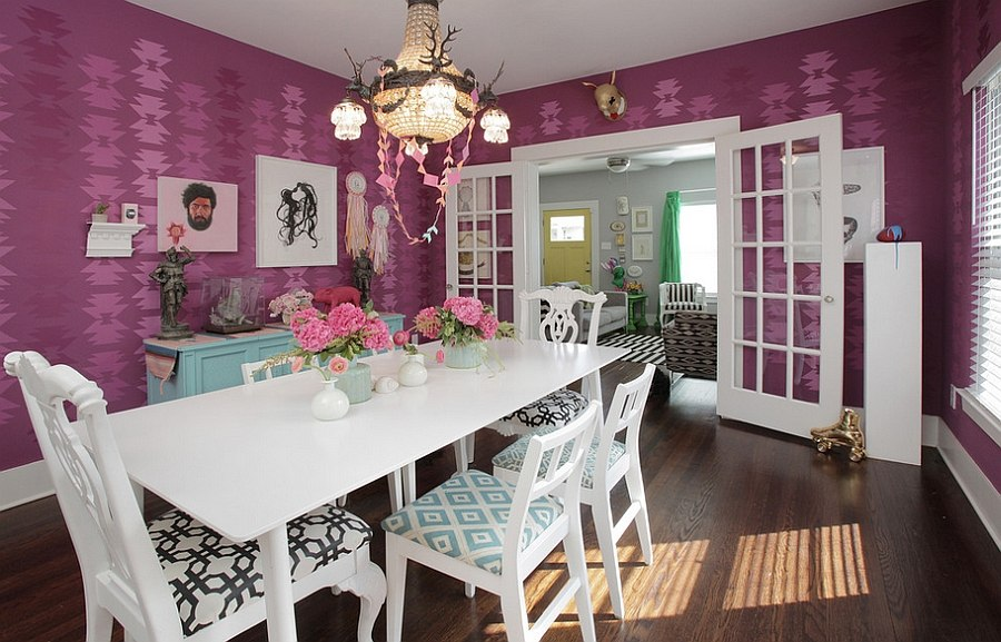 Purple Dining Room Ideas To Attract Your Family Members ...