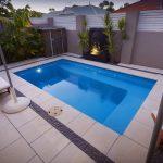 luxurious outdoor pool design a modern minimalist  lighting garden corner eqipment pool enclosure mini garden two units relaxing pool chairs
