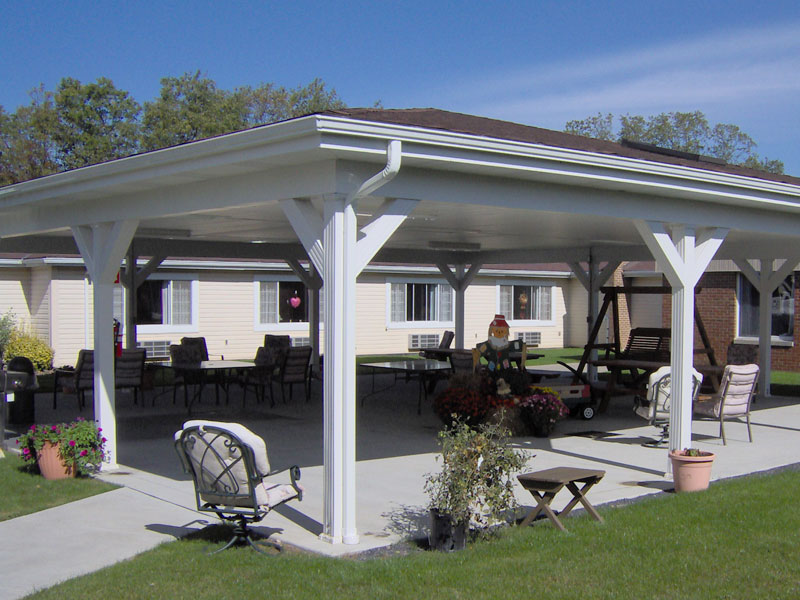 Outdoor Pavilion Plans: A Way to Expand Your Outdoor Area ... on Outdoor Patio Pavilion id=67844