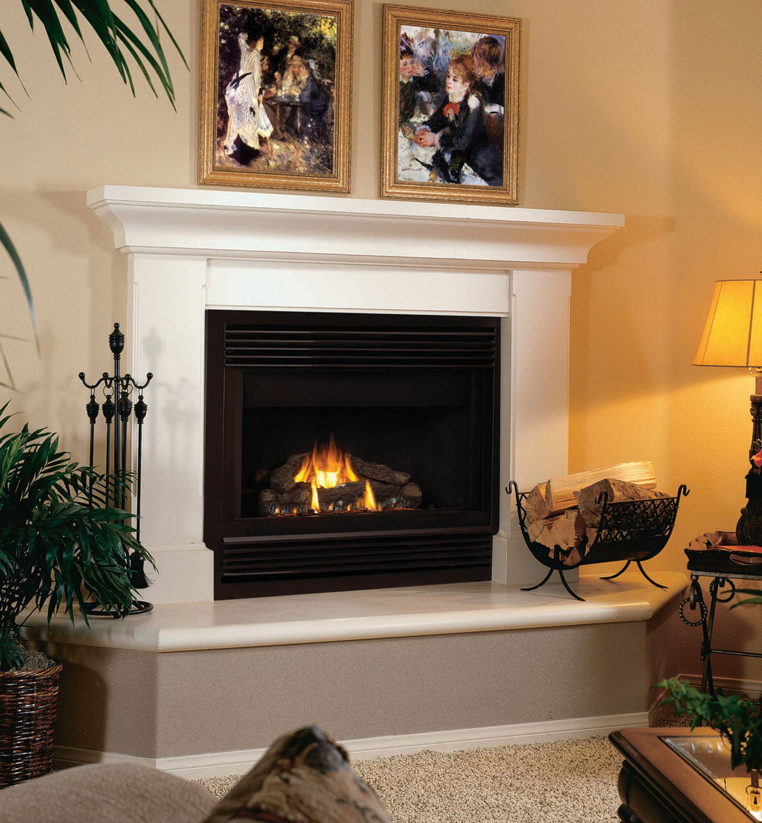 Modern Hollywood Whitewashing: The Ideal And Perfect Fireplace Mantel Height