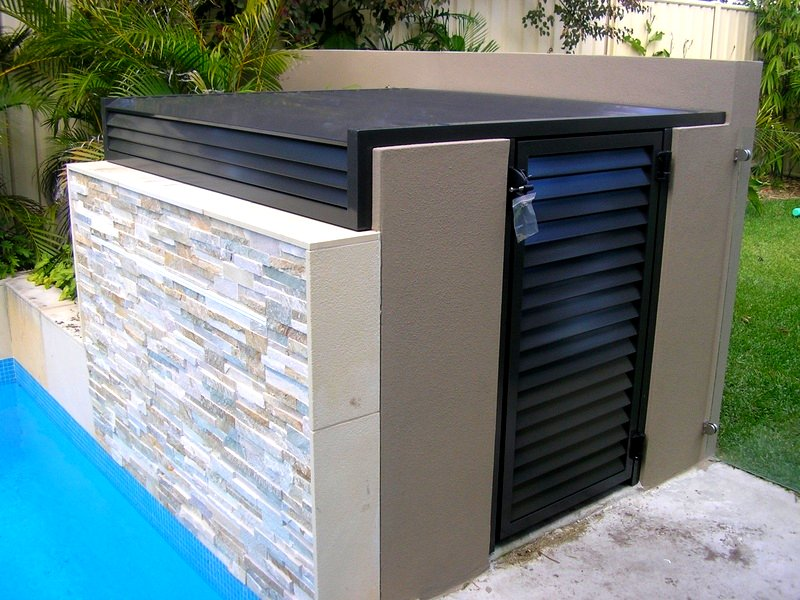 How To Build A Pool Pump Housing