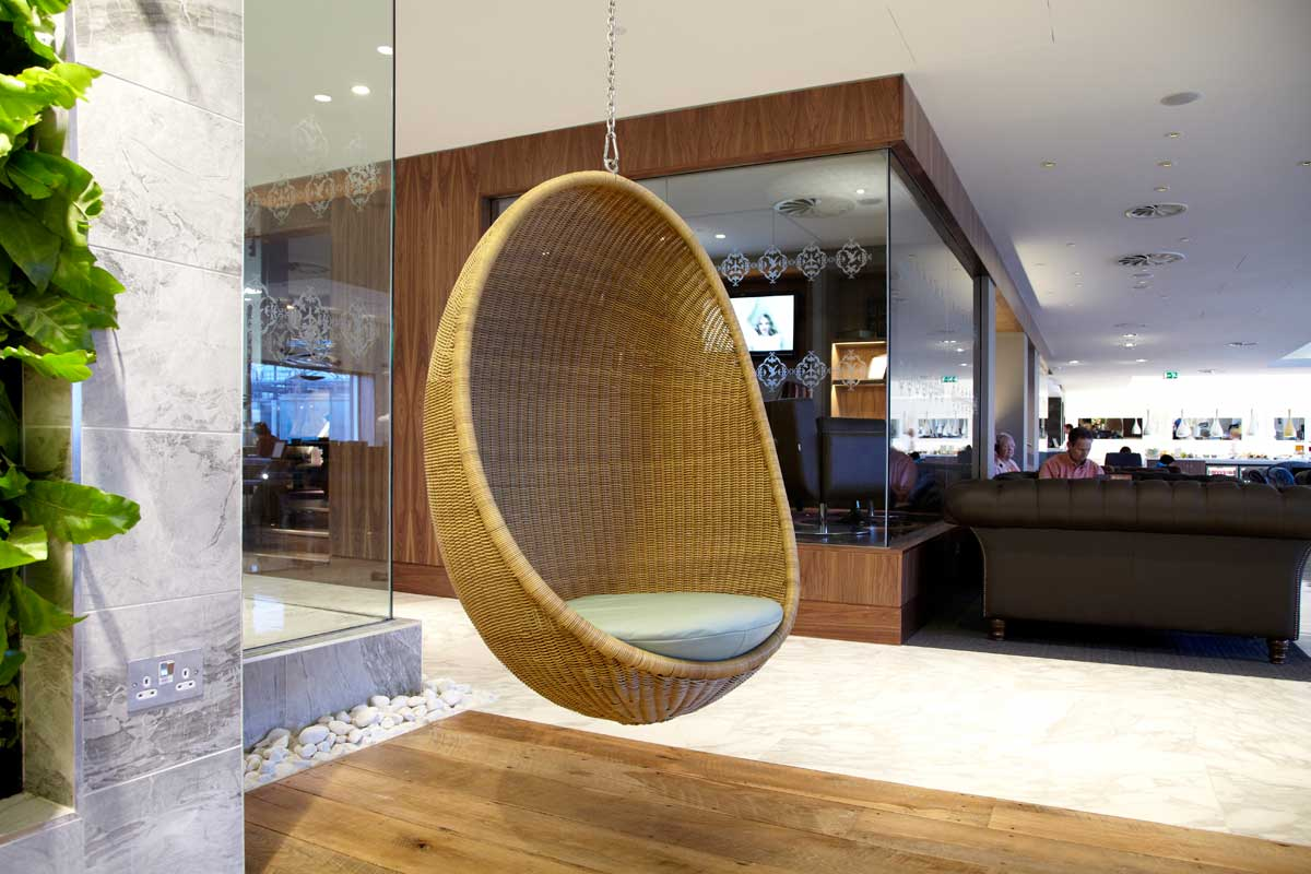 Chairs That Hang From Ceiling A Way To Have Fun With