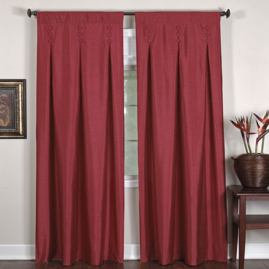 How to Make and Install the Inverted Pleat Drapes - HomesFeed