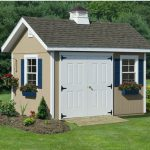 Shed Looks Like Home With Large Entry Door And Beautiful Windows Mini Garden