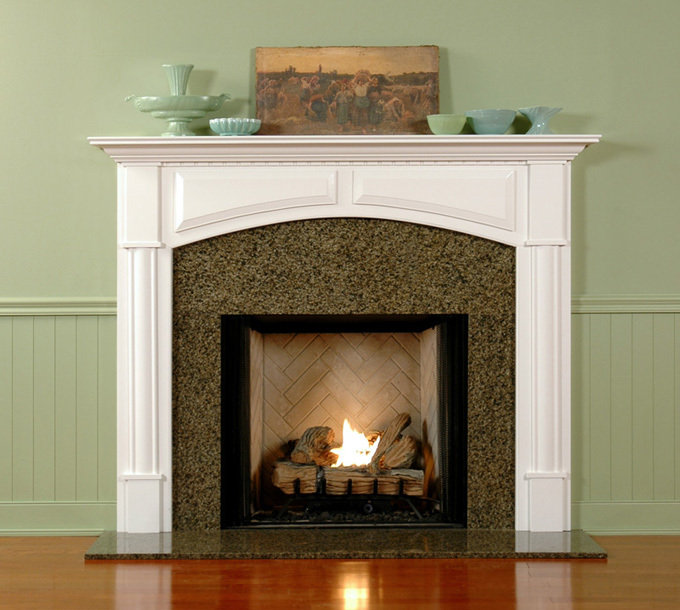 the ideal and perfect fireplace mantel height homesfeed. Black Bedroom Furniture Sets. Home Design Ideas