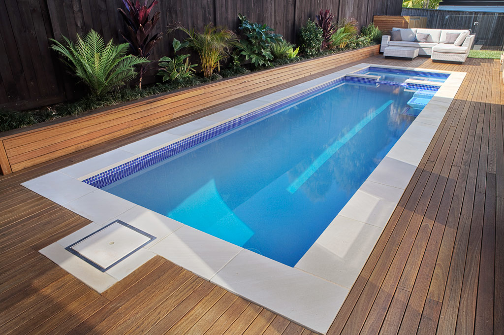 Plunge pool cost estimation homesfeed for Best flooring for house with pool