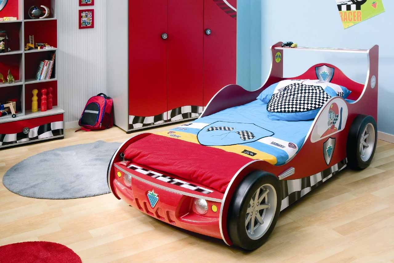 Race Car Bed For Toddlers Race Off To Kids Dreamland Homesfeed