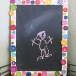 unique and creative framed chalkboard accessory