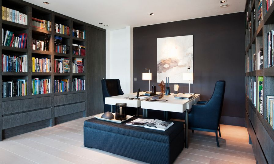 Designing Your Home Office With Professional White Accent