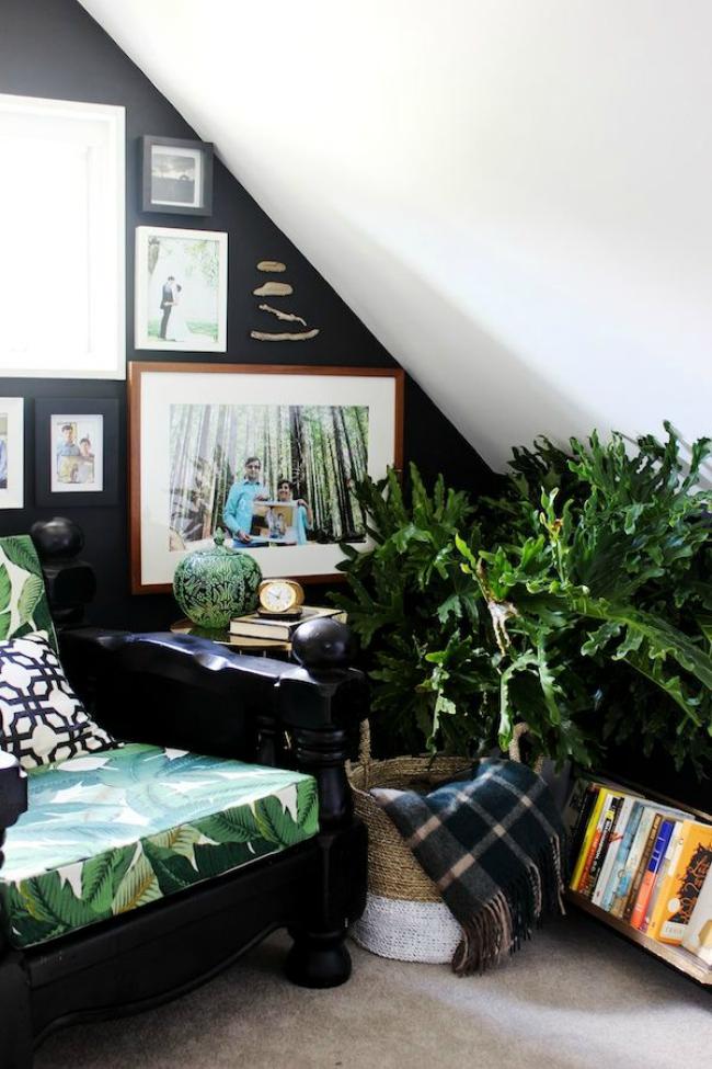 Image result for large plant reading corner