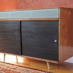 a credenza furniture in old-look