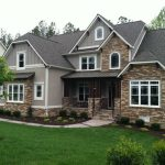 adorable cool wonderful nice attractive craftsman style house with nice brick wall concept in brown accent with nice dark roofing