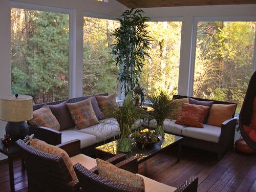 creative design and concept of 3 season room homesfeed. Black Bedroom Furniture Sets. Home Design Ideas