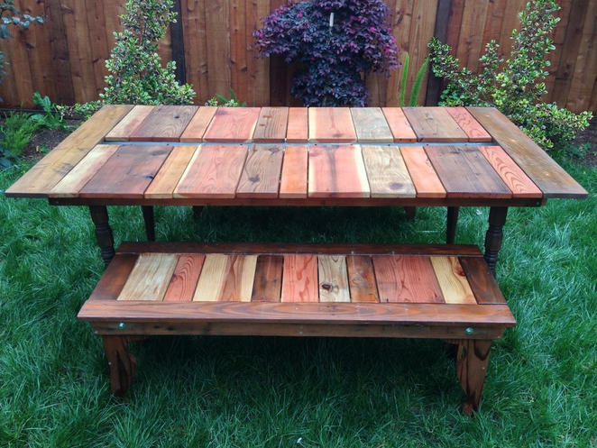 Adorable Cute Nice Wonderful Amazing Cool Picnic Table With Traditional Wooden Conceot Design Pergola Modern