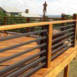 adorable nice cool amazing wonderful horizontal deck railing with with Custom metal horizontal_railing with Rewood