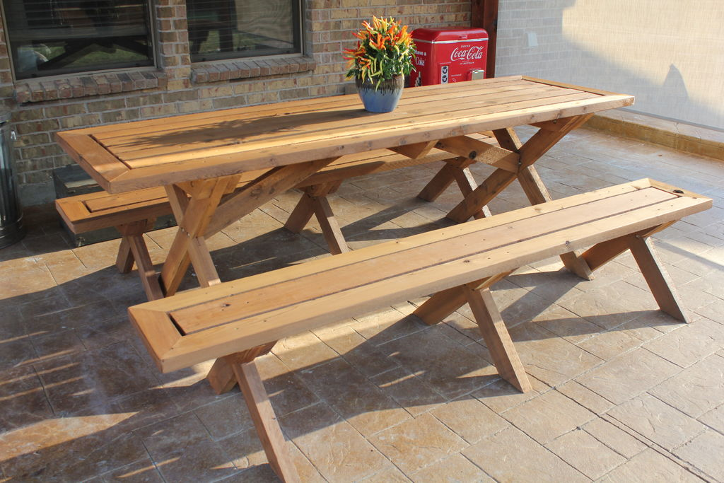 Creative and Cool Picnic Table Design for Back Yard and ...