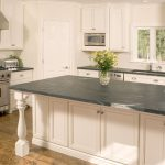 amazing cool wonderful nice adorable creative soapstone kitchen design with black concept accent with nice white cabinet design