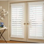 amazing cool wonderful nice adorable  shutter for french door with doble door small made of wood concept for modern home
