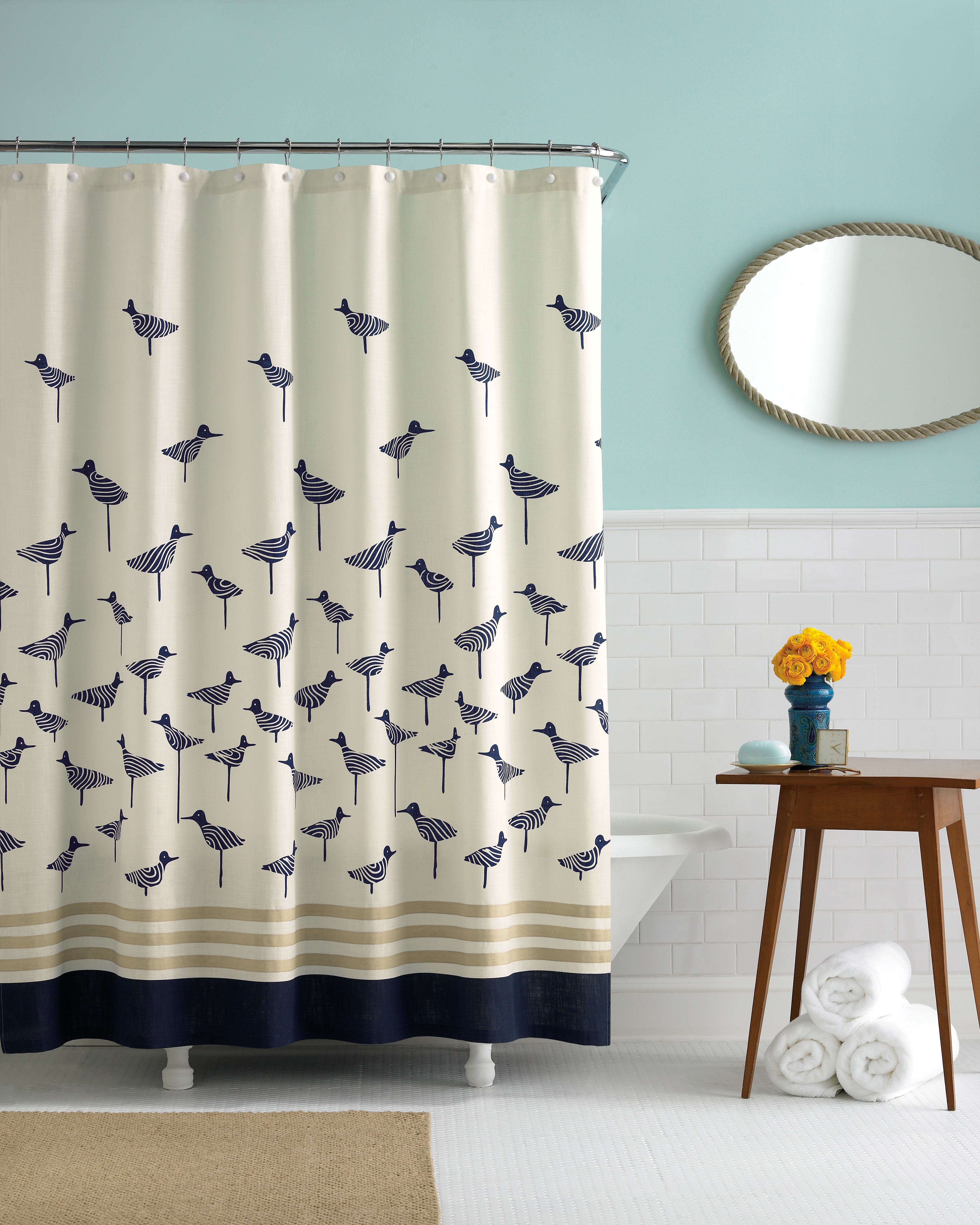 bed bath and beyond shower curtains: offer great look and functional - homesfeed