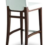 attractive nice adorable wonderful cool houzz bar stool with all wooden made concept with double color combination white and brown