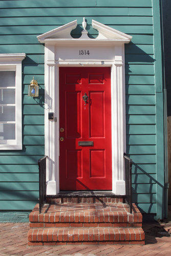 The best choice of cool front doors for you homesfeed - What does a red front door mean ...