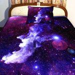 beautiful Milky-Way Galaxy bed sheet set