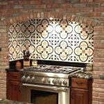 beautiful spanish tiles for backsplash in kitchen room